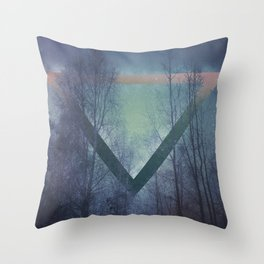 Pagan mornings Throw Pillow
