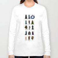 valar morghulis Long Sleeve T-shirts featuring The Valar (dark) by wolfanita