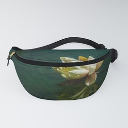Water Lily after rain Fanny Pack