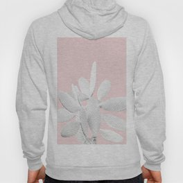 White Blush Cactus #1 #plant #decor #art #society6 Hoody