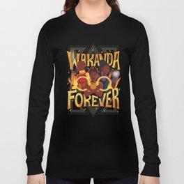 Women of Wakanda Long Sleeve T-shirt