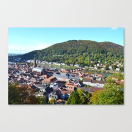 Heidelberg Overlook Canvas Print