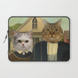 """American """"Cat""""thic Laptop Sleeve"""