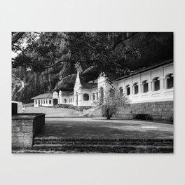 The Royal Rock Temple complex location Dambulla Canvas Print