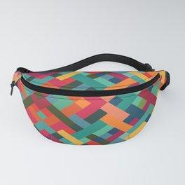 Weave Pattern Fanny Pack