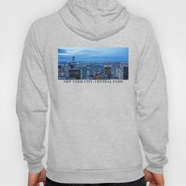 New York City and Central Park Hoody