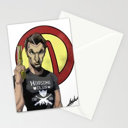 Handsome Jack Bullet Club Stationery Cards