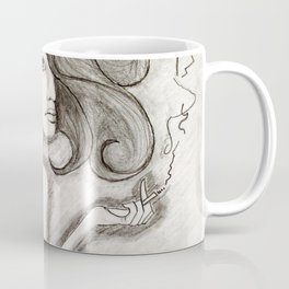 ef off girl Coffee Mug