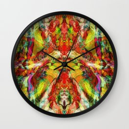 The warm hypnosis Wall Clock
