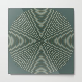 Roda - Circles Metal Print