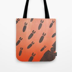 living with air strikes - an illustrated guide Tote Bag