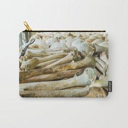 Bones & Skulls - The Killing Fields, PhnomPenh, Cambodia Carry-All Pouch