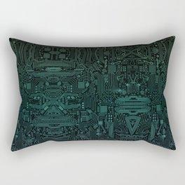 Circuitry Details Rectangular Pillow