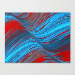 Ondas Canvas Print