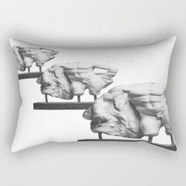 W. Lysippos  Rectangular Pillow
