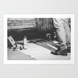 BLANK Art Print