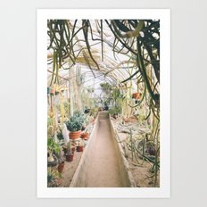 PLANT LOVER Art Print
