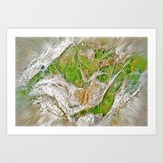 Ocean Grass Art Print