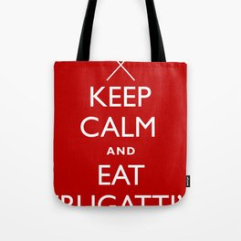 EAT FRUGATTI'S Tote Bag
