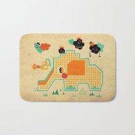 Elephant Playground Bath Mat