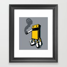 PACKMAN Framed Art Print