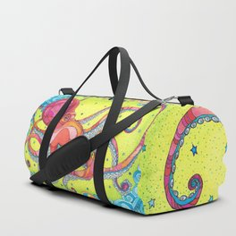 Giant Pacific Octopus Duffle Bag