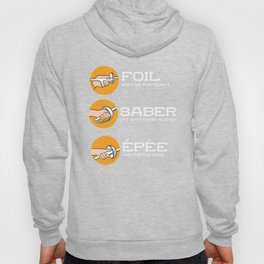 Foil Saber Epee | Fencing Hoody