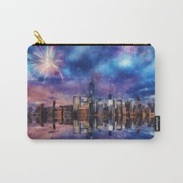 New York Fireworks Carry-All Pouch