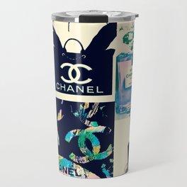 CC No.5 Fashion Collage Travel Mug