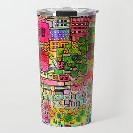 Color Town Travel Mug