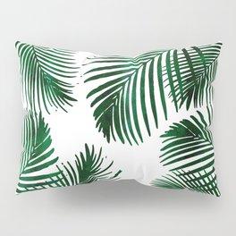Tropical Palm Leaf Pillow Sham
