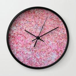 Pink Fantasy Wall Clock