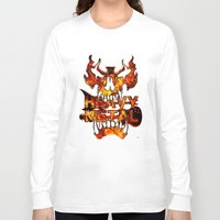 heavy metal Long Sleeve T-shirts featuring Heavy Metal by Lindsay Spillsbury