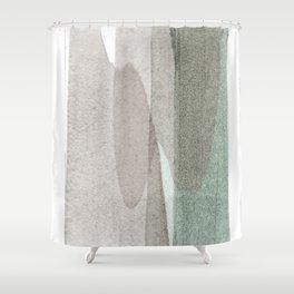 transparent 1 Shower Curtain