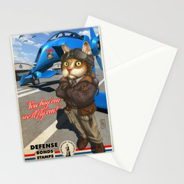 Supporting the Cat Army Stationery Cards