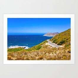 Corse 1.7 Art Print