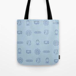 Fallout- Vault Dweller pattern Tote Bag