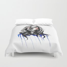 In Our Wildest Moments // Fashion Illustration Duvet Cover