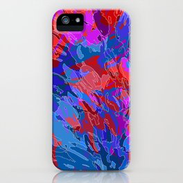 exploding coral iPhone Case