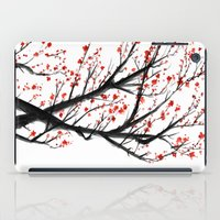 sakura iPad Cases featuring Sakura by rchaem