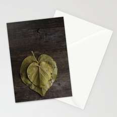 I heart leaves Stationery Cards