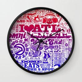 ATL. Wall Clock