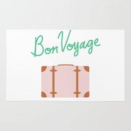 Bon Voyage \\ Suitcase Rug