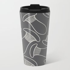 king oyster mushrooms Metal Travel Mug