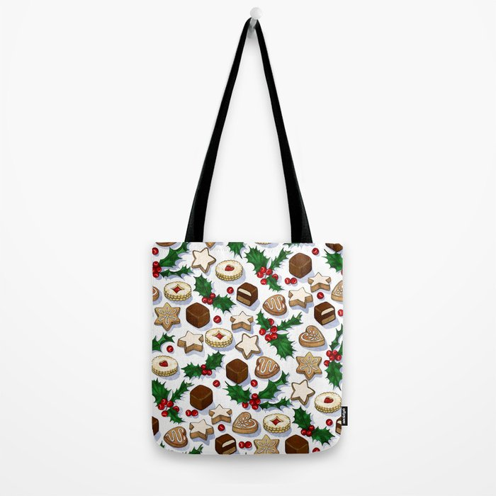 Christmas Treats and Cookies Tote Bag