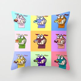Courage Throw Pillow