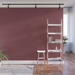 Red Pear | Pantone Fashion Color | Fall : Winter 2018 | New York and London | Solid Color | Wall Mural