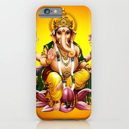 Hindu Ganesha 2 iPhone Case