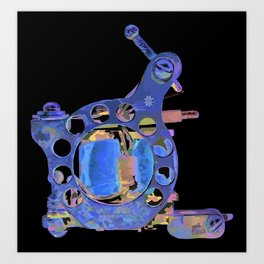 Machine two Art Print