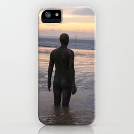 Crosby beach iPhone Case